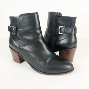 Sam Edelman Marlene Black Ankle Boots 8